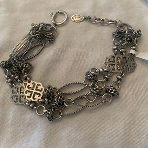 Catherine Popesco silver Triple bracelet
